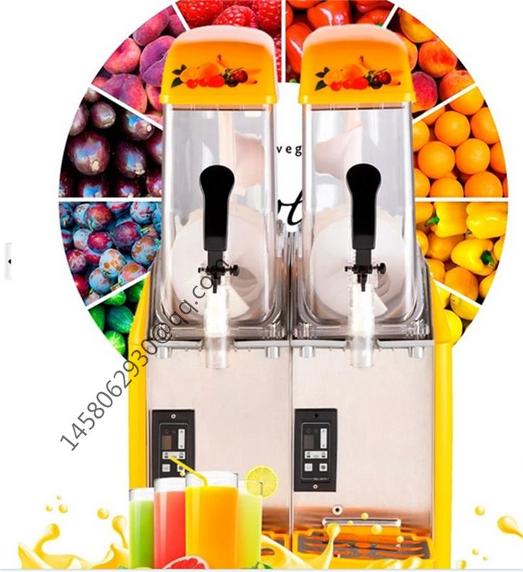 24L Commercial Cheap Slush Machine for Sale CE Approved Ice Slushy Slush Machine