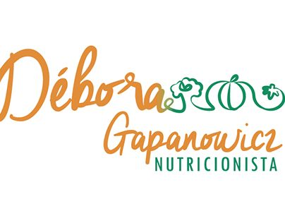 "Check out new work on my @Behance portfolio: ""Logotipo Nutricionista Débora"" http://be.net/gallery/46337041/Logotipo-Nutricionista-Dbora"