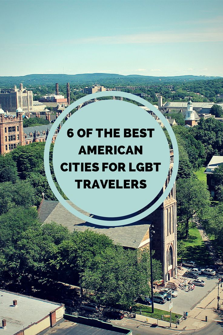 6 Underrated American Cities For #LGBT Travelers