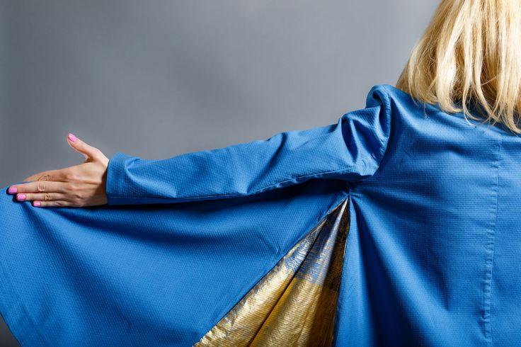 Blue dresscoat