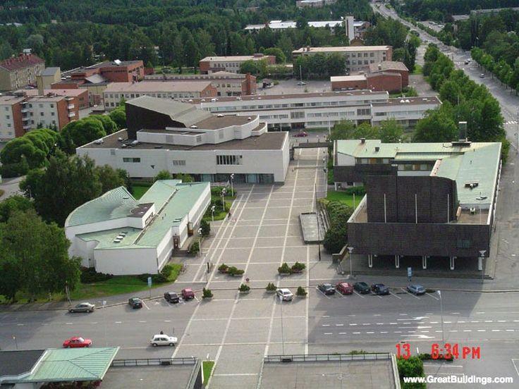 ArchitectureWeek Great Buildings Image - Seinajoki Library