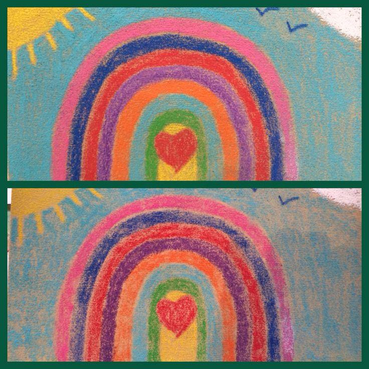 Antes y después de usar la plancha. Explico proceso en la otra imagen doble.
