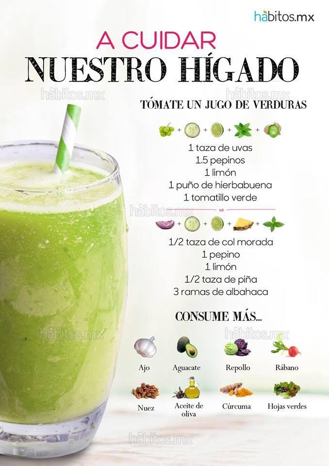 Hábitos Health Coaching | JUGO DE VERDURAS PARA CUIDAR NUESTRO HÍGADO