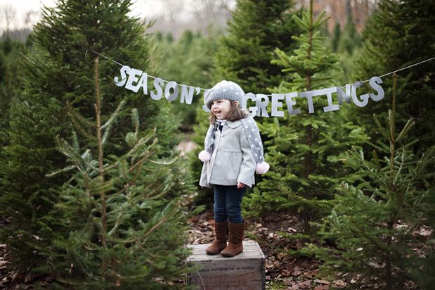 Seasons greetings at a Christmas tree farm. I will have a Xmas tree farm... People will come and take Xmas pictures there!!!!!!!