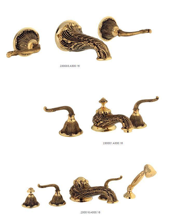 Luxury bathroom fittings - bronces mestre