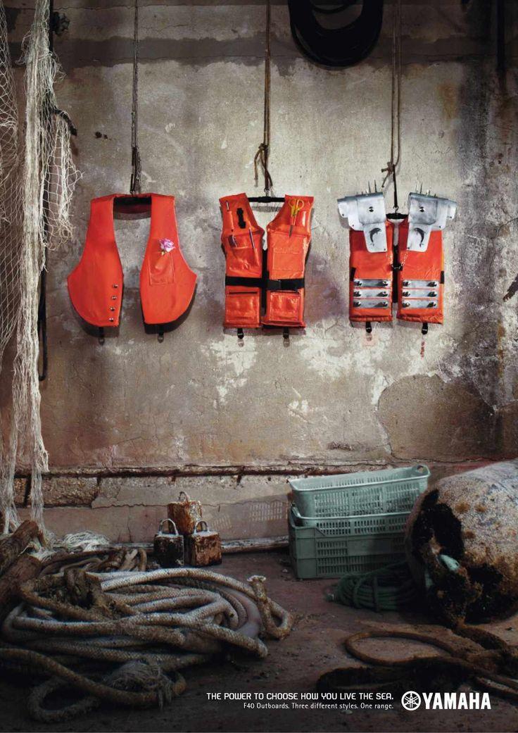 Yamaha Marine: Life vests
