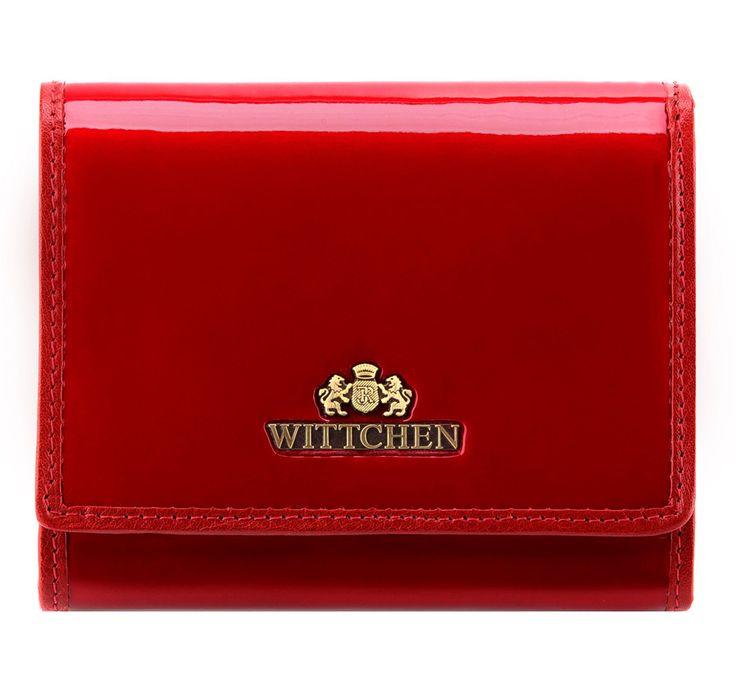 Portmonetka 25-1-070-C beżowa skóra lakierowana - sklep internetowy WITTCHEN 2016