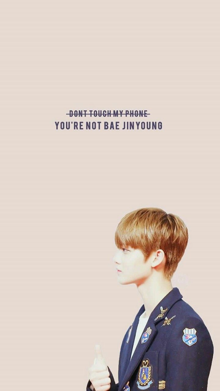 #WannaOne #WannaOneWallpaper #Produce101 #BaeJinyoung Credit to owner