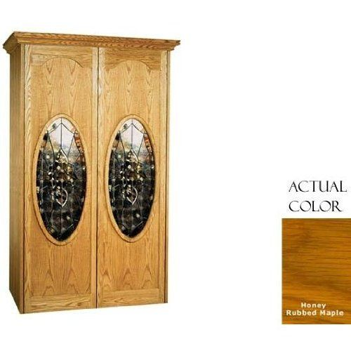 Vinotemp Vino-700nap-rcc 440 Bottle Napoleon Series Wine Cellar With Cornice - Glass Doors / Honey Rubbed Maple Cabinet by Vinotemp. $5829.00. Vinotemp VINO-700NAP-RCC 440 Bottle Napoleon Series Wine Cellar With Cornice - Glass Doors / Honey Rubbed Maple Cabinet. VINO-700NAP-RCC. Wine Cellars. The elegant Napoleon series Wine Cellar by Vinotemp features two doors with an oval, beveled glass pane. The wine mate self contained cooling system ensures proper circulation whi...