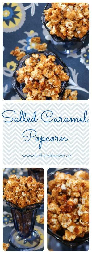 #FoodieMamas are back with Corn as our monthly ingredient! Take the time, and whip up this AMAZING Salted Caramel PopCORN for your next movie night!! www.fuchsiafreezer.ca