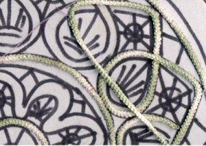 Deckchen mit Makrameehäkeln - Romanian Point Lace Crochet pattern and tutorial