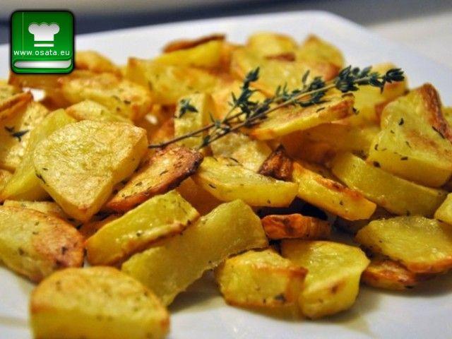 Рецепта как да приготвим Задушени картофи с чесън и зехтин