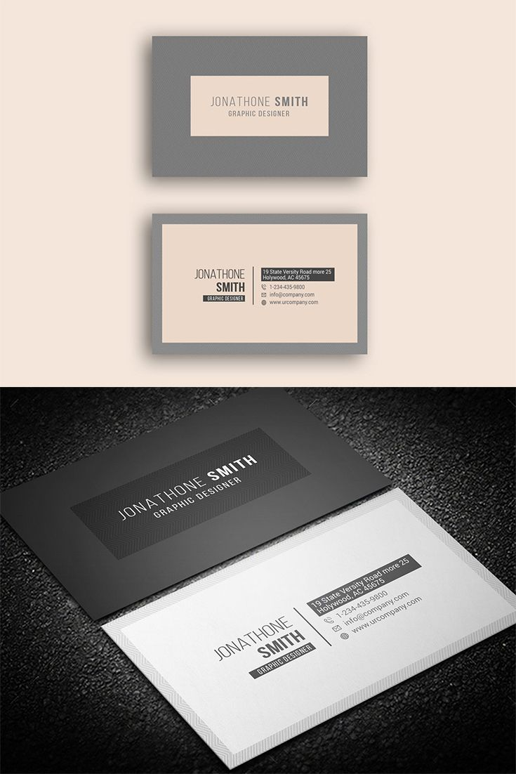 Personal Business Card In 2020 Personal Business Cards Business Cards Graphic Design