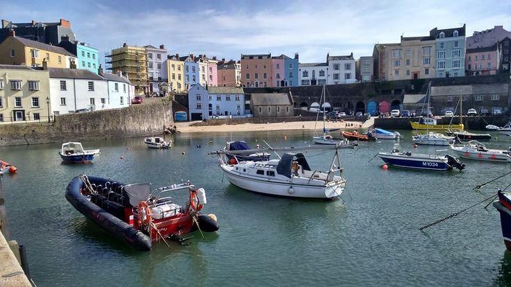 ~ Tenby Harbour ~ April 2015 ~ Pembrokeshire ~ Wales ~ UK ~