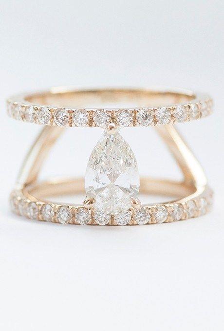 23 Unique Engagement Rings For The Unconventional Bride