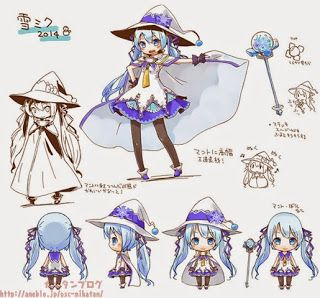 Dr.Vee, Mangaka without Borders!: Snow Miku 2015 Design Contest Now Open