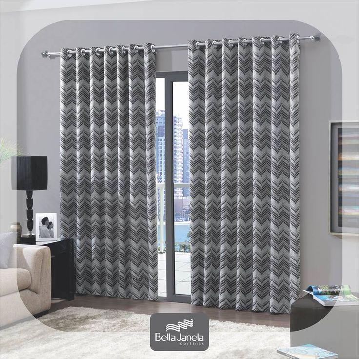 Com o Corta-Luz Tecido Estampado, sua casa ficará ainda mais cheia de estilo!