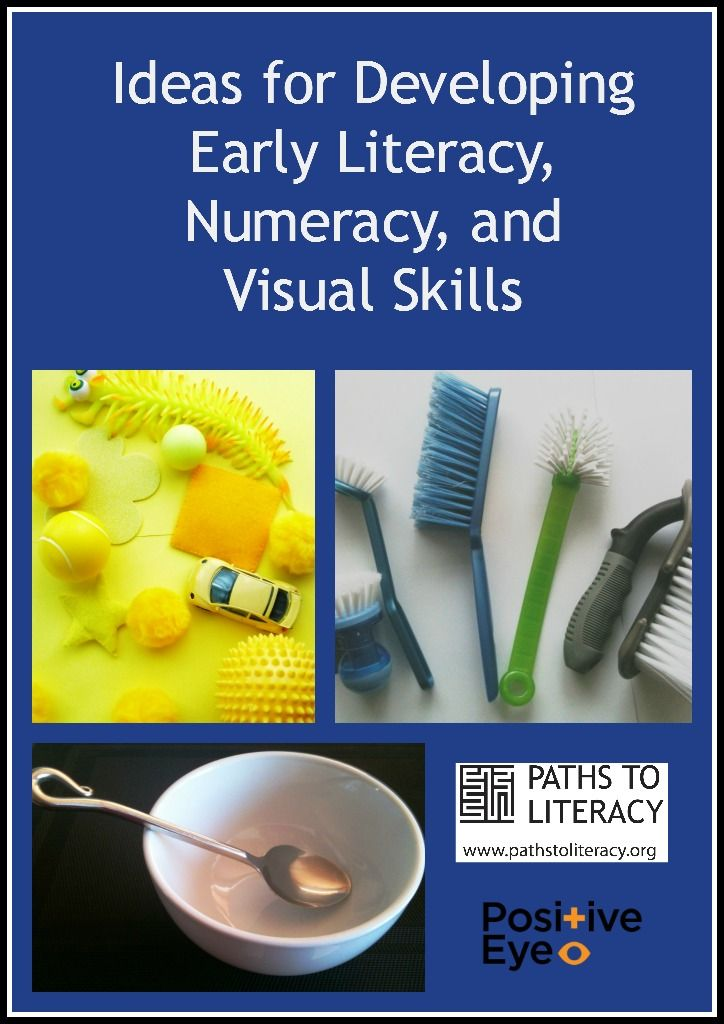 Hands-on ideas for helping young children with visual impairments to develop early literacy, numeracy, and visual skills