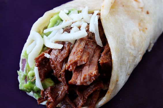 Slow-Cooker Shredded Beef Tacos Recipe | gimmesomeoven.com: Slow Cooker Tacos Beef, Crock Pots, Crockpot Tacos Beef, Mexicans Shredded Beef Tacos, Shredded Beef Tacos Crock Pot, Pots Shredded, Slow Cooker Beef, Tacos Recipe, Crockpot Beef Tacos