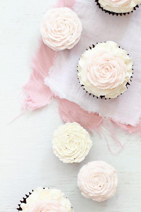 rose cupcake DIY