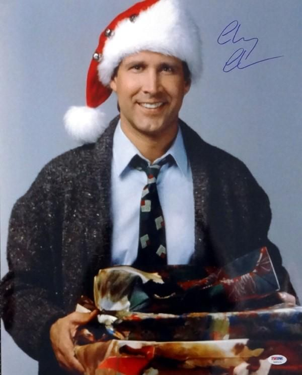 Calm And Cool In Chevy Chase In 2019: Chevy Chase Autographed 16x20 Photo Christmas Vacation PSA