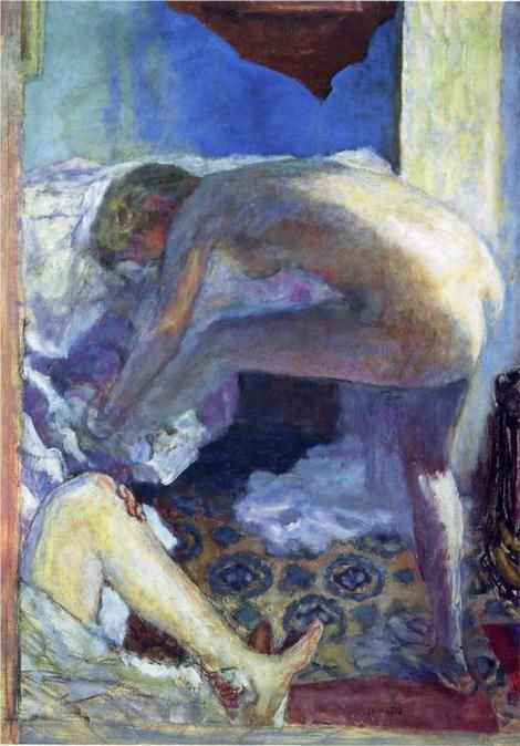 Pierre Bonnard, The Big Blue Naked , 1924