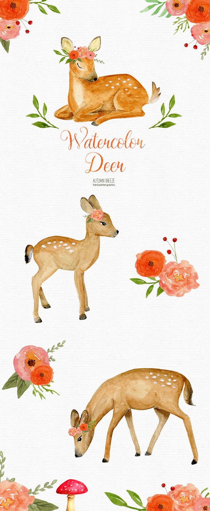 This Item Is Unavailable Etsy Forest Animals Illustration Deer Illustration Cute Animal Illustration