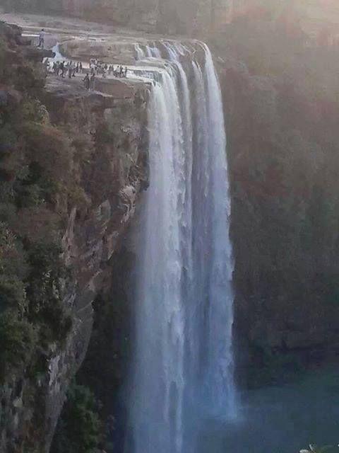 Chachai waterfall   near of Sirmaur, Madhya-Pradesh, India