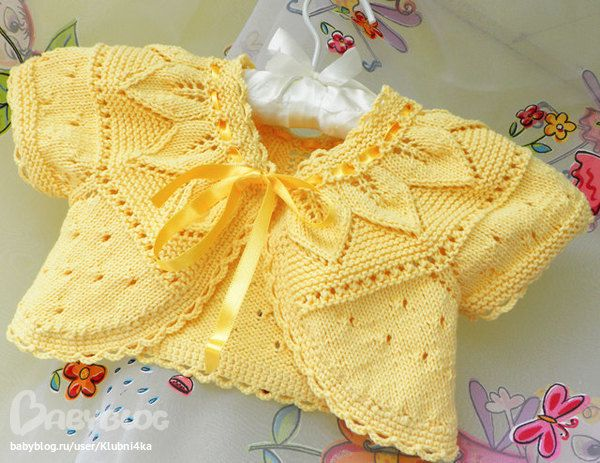 I don't pin a lot of baby clothes, but this is just beautiful!