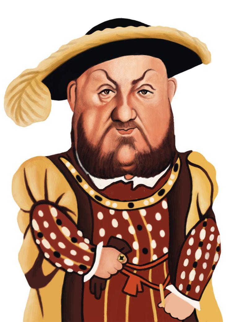 King Enrique VIII Casa Tudor 1491 - 1547 Hijo de Enrique VII