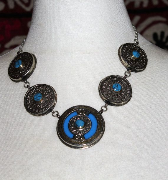 Tribal Halskette Kasachische Tribalhalkette mit von neemaheTribal