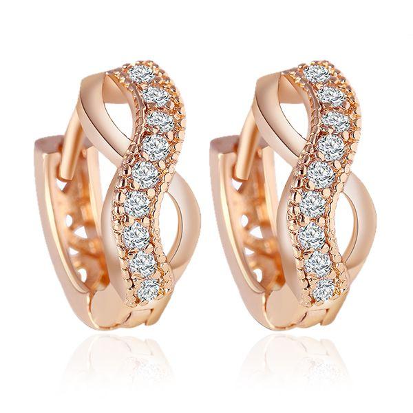 Luxury Charm Infinity Earrings        Buy infinity jewelry here 👉 https://www.8-jewelry.com/luxury-charm-infinity-earrings/