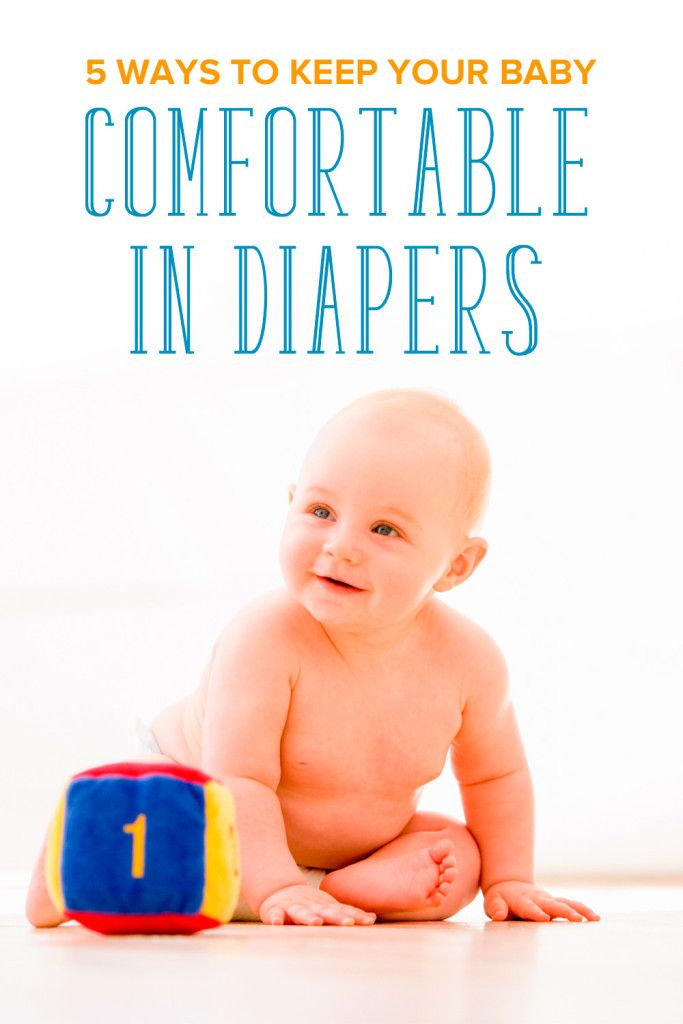 Can you imagine how uncomfortable it must be for little ones to be in diapers 24/7?  Check out these 5 great ways to keep baby comfortable! ComfortCareDiapers AD