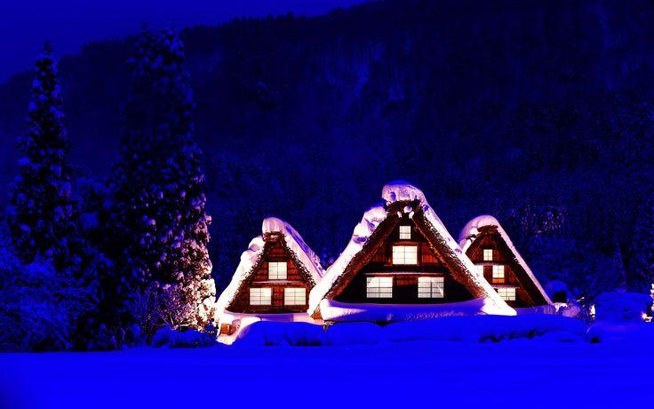 winter screensavers backgrounds (Teal London 1920x1200)