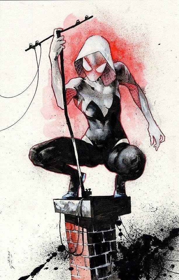 Spider-Gwen by Jason Shawn Alexander *