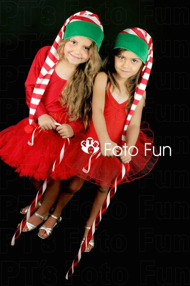 Christmas Traditional- gorgeous twin girls