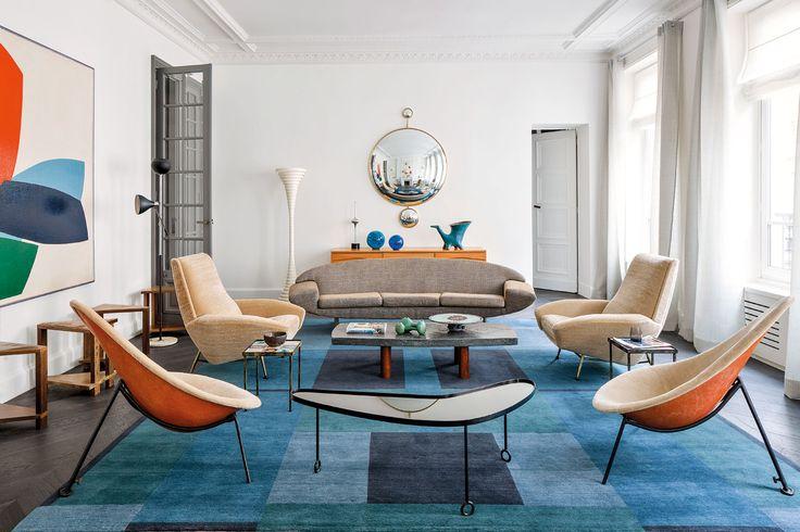 Als Antiquitätenhändler fahndet Jacques Hervouet nach Möbelikonen, als Interiordesigner nach dem richtigen Centerpiece für jeden Raum.