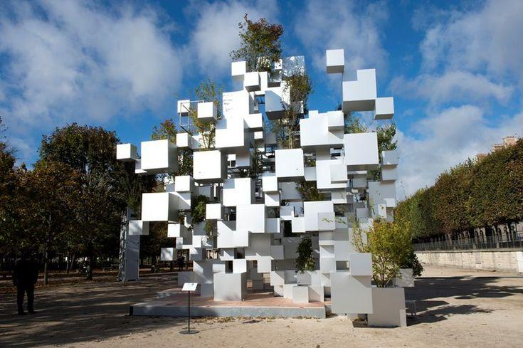 Многие мелкие кубики, Париж, 2014 - Су Фудзимото Архитекторы