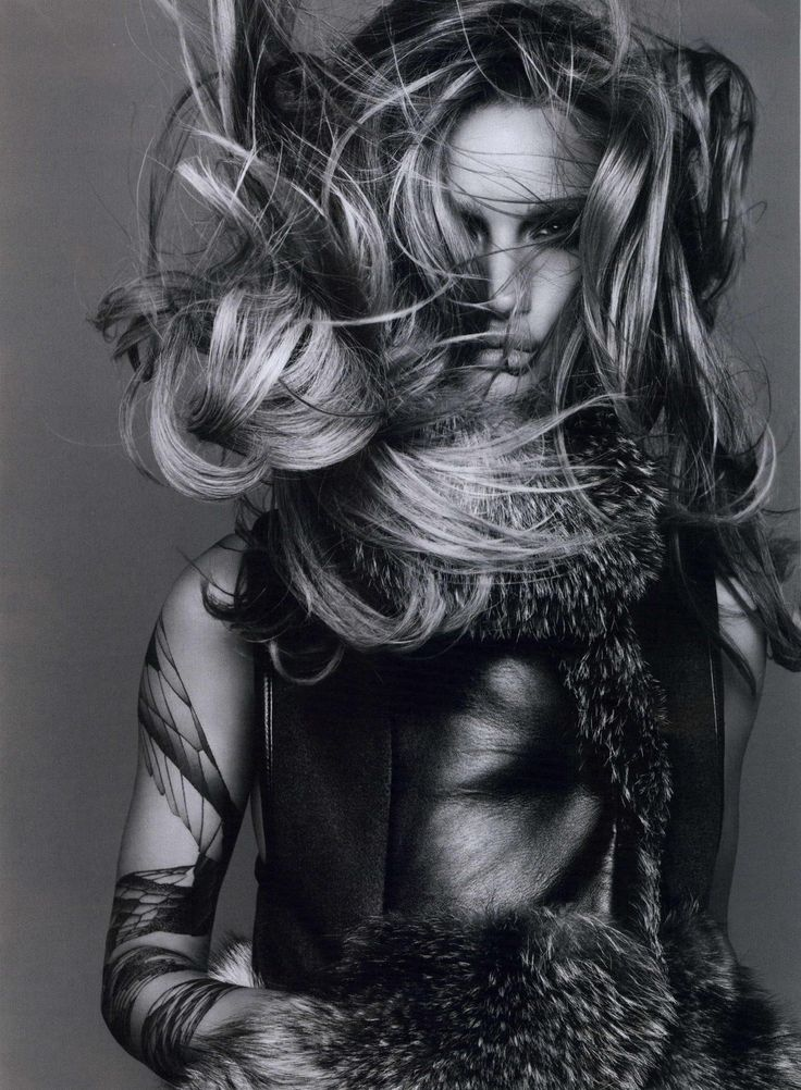 "Fashion Photography By Rankin: Rosie Huntington-Whiteley From The Book ""Ten Times Rosie"" By Paula Thomas"