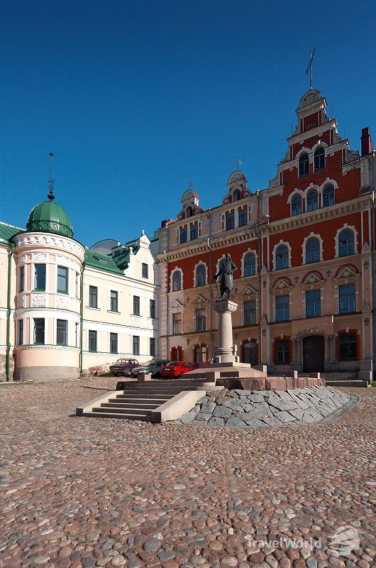 Vyborg, Russia.