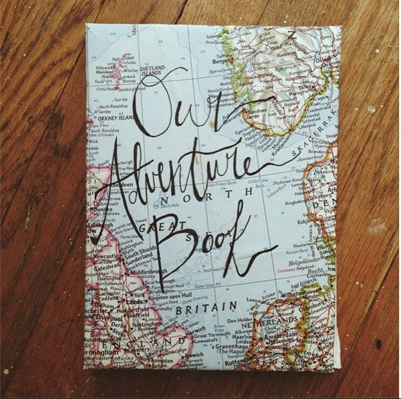 Nuestra aventura libro diario hecho a mano copto por Akeidah
