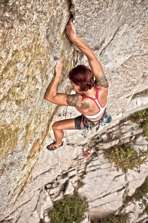 Don't look down. Pushing yourself to the limits. #superinspired