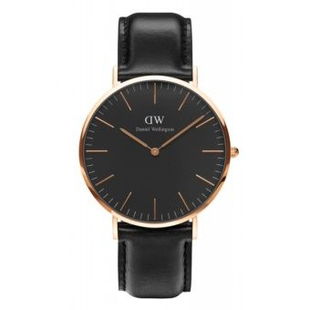 Buy Daniel Wellington Mens Classic Black Sheffield Watch 40mm Rose Gold / DW00100127(Black) online at Lazada. Discount prices and promotional sale on all. Free Shipping.