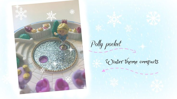 Polly pocket, winter theme