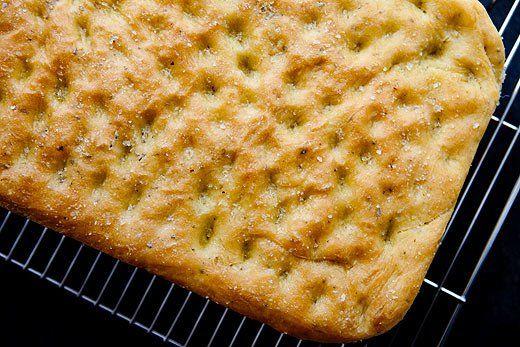 Flat bread recipes focaccia