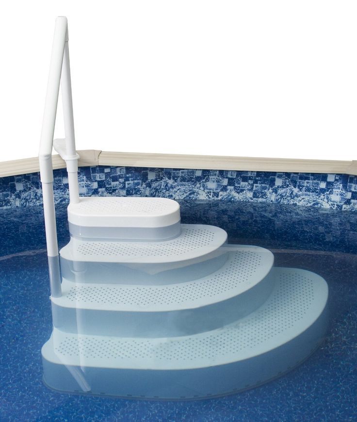 best 25 above ground pool stairs ideas on