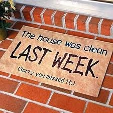 I need a doormat like this!