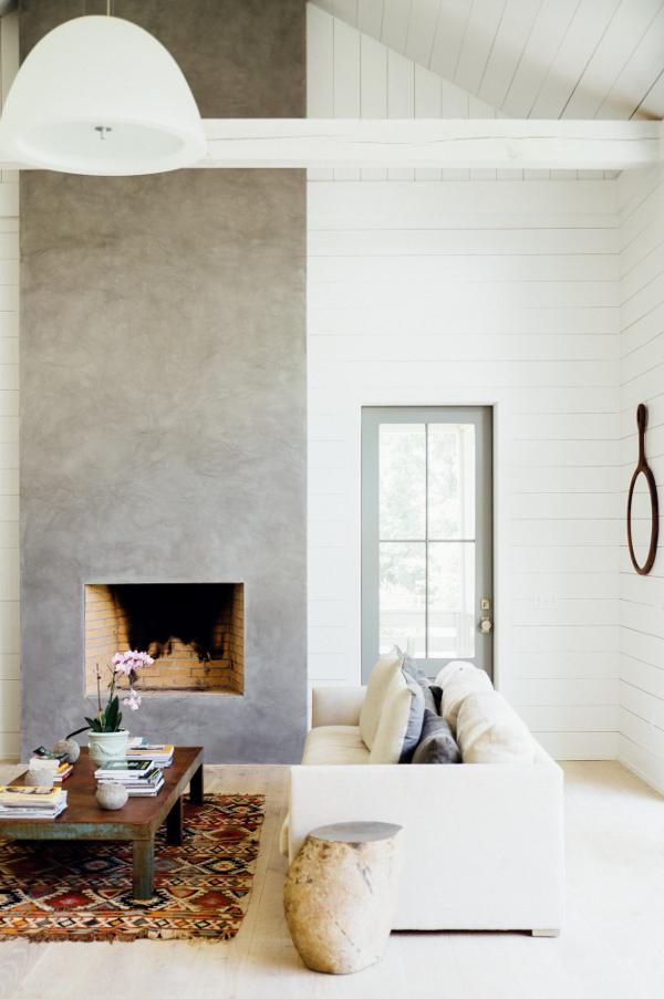 White base with natural accents