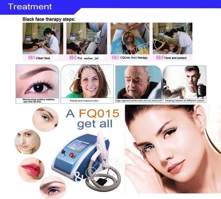 FQ015 Portable tattoo eyebrow removal Nd Yag laser