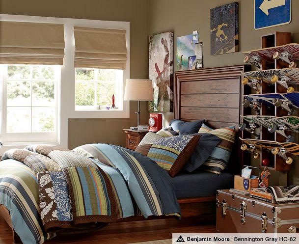 Brown Bedroom Ideas Amp Oceanside Hampton Bedroom Pbteen